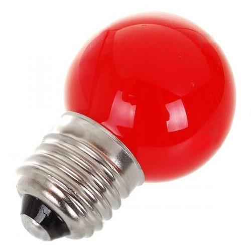 0,7W LED úsporná žiarovka - červené svetlo