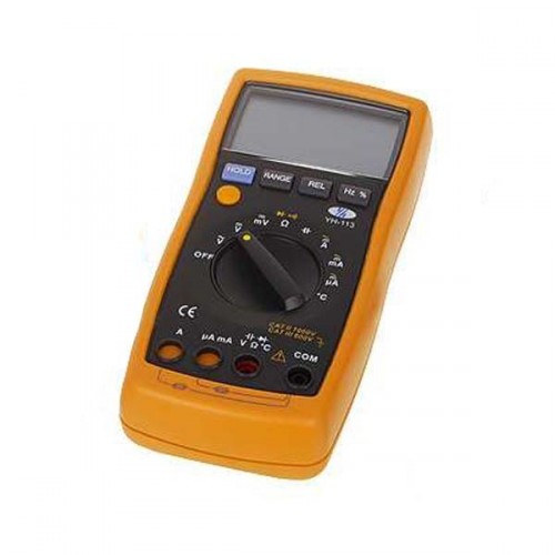 Vreckový multimeter (napätie, prúd, odpor, teplota)