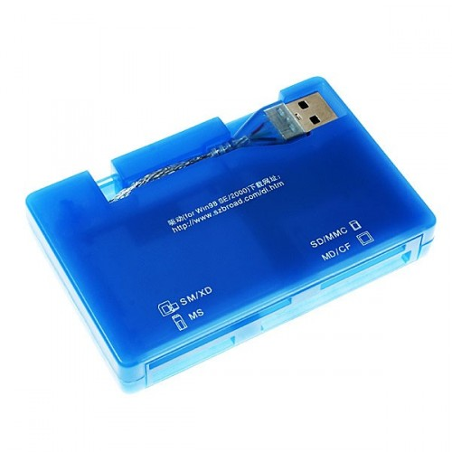 All-in-One USB 2.0 čítačka kariet