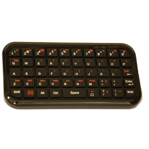 Mini Bluetooth 3.0 QWERTY klávesnica pre Android / Windows / Symbian / iPhone / PS3